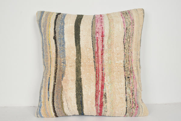 Dunelm Kilim Cushion A00748 24x24 Novelty Boho Nomad Model