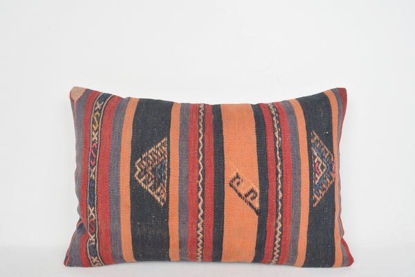 Etsy Turkish Kilim Pillows E00151 Lumbar Art Room Folkloric Folk Art