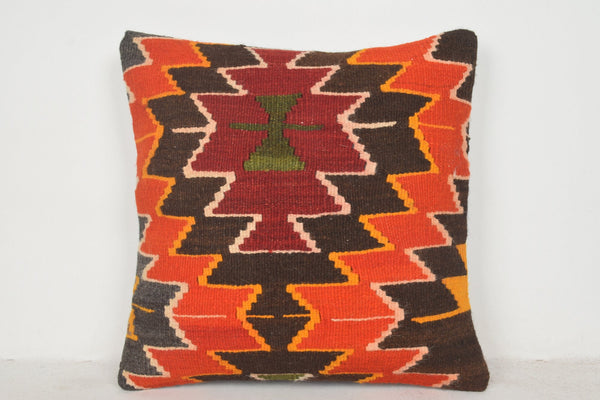 Kilim Rugs Turkey Pillow B00551 20x20 Eastern Cover Bed