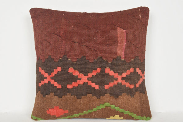 Pottery Barn Kilim Rug Pillow D00951 16x16 Inexpensive Personal Euro