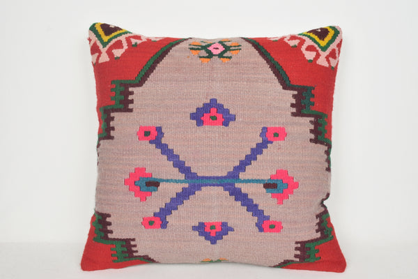 Dorma Kilim Cushion A00051 24x24 Fabric Hellenistic Embroidery Decorating