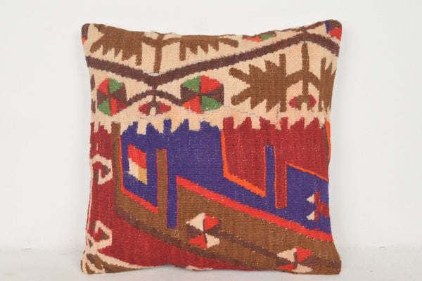 Kilim Pillows Bulk C00552 18x18 Hand crafted Accents Decorator