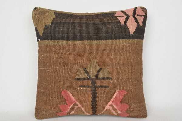 Kilim Pillow Covers C00154 18x18 Precious Knit Hippie