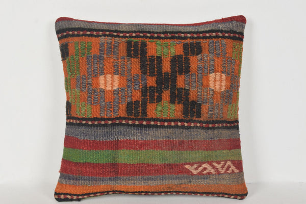 Turkish Corner Pillow with Welt D00354 16x16 Home Geographical Moroccan