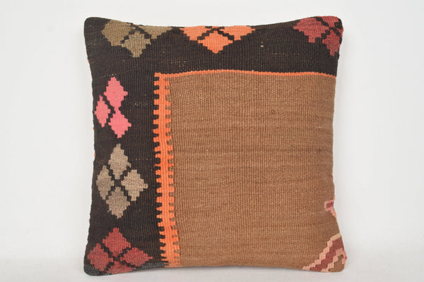 Kilim Pillow Covers 18x18, Turkish Pillow Cases C00155 18x18 Mythological Needlepoint Ethnic