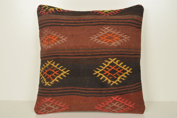 Kilim Pillows from Turkey B02056 20x20 Cross-stitch Bright Home