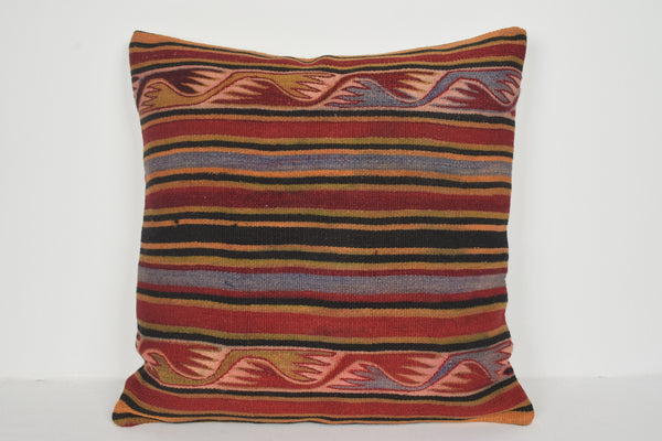 Moroccan Kilim Cushion A00756 24x24 Craft House Middle East
