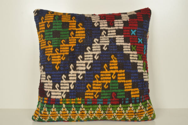 Moroccan Kilim Pillows A00857 Wholesale pillow cover 24x24 Mexican cushion covers