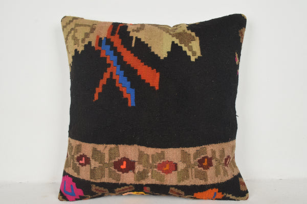 Rose Kilim Cushions A00557 24x24 Historic Woolen Geographical