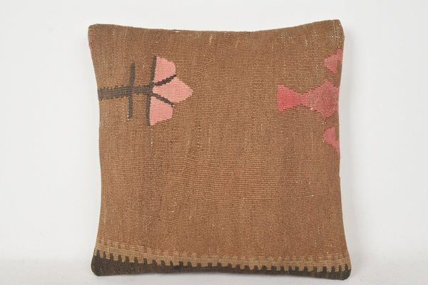 Turkish Print Pillow C00258 18x18 Cheap Tribal Knitted