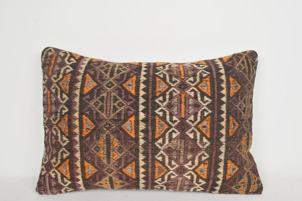 Kilim Pillows Com E00059 Lumbar Decorating Hand Knot Knitted