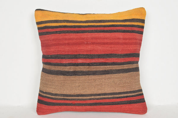 Kilim Lumbar Pillows for sale D00660 16x16 Christmas Seat Special