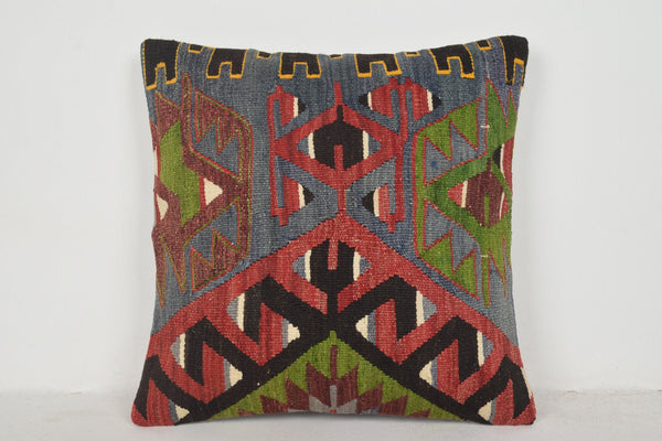 Kilim Rug Rooster Pillow B00506 20x20 Coastal Seat Bedroom