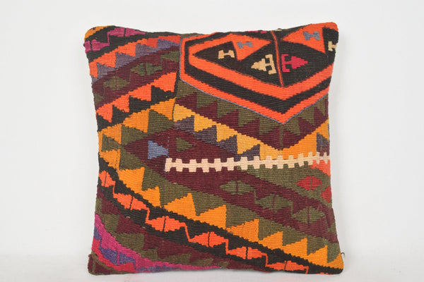 Kilim Cushions Brighton C00106 18x18 Shop Knotted Turkish