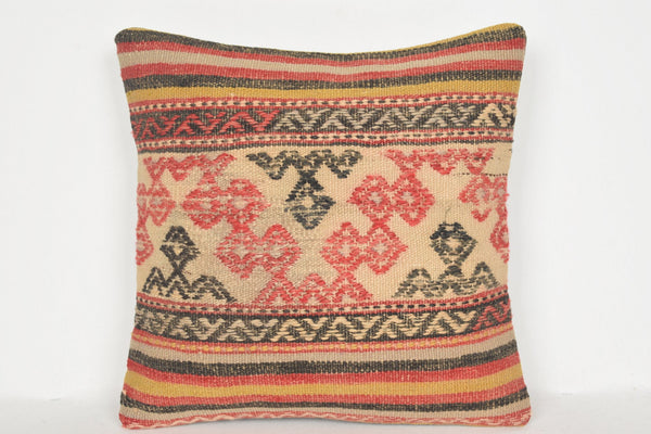 Navajo Kilim Pillow D00661 16x16 Traditional Accents Technical