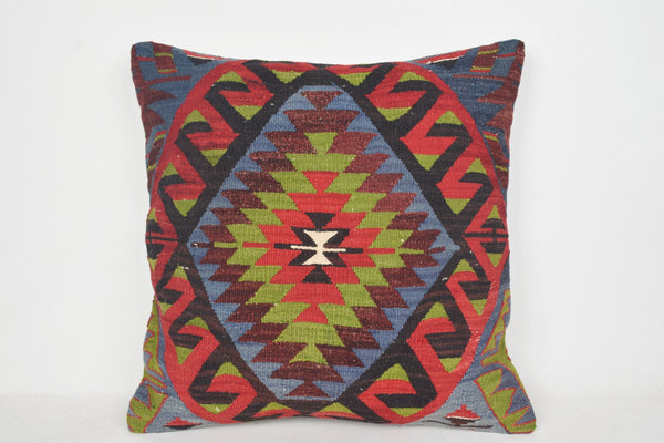 Kilim Cushions NZ A00061 24x24 Soft Collection Modern Craft Geometric