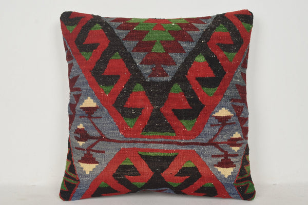 Turkish Kilim Rugs Vancouver Pillow B00262 20x20 Burlap Wool