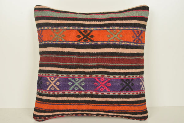 Turkish Outdoor Cushions C00862 18x18 Middle east Handmade Beach