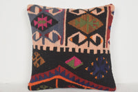 Kilim Rug Handbags Pillow D01163 16x16 Garden Retro Wedding