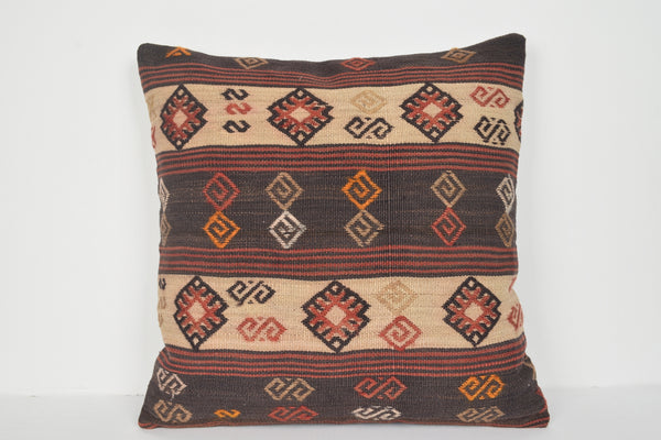 Pinterest Kilim Pillows A00664 24x24 Armchair Gift Oriental Flat Weaving