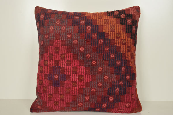 Turkish Kilim Pillow Covers A00864 Traditional pillow covers 24x24 Easter cushion covers