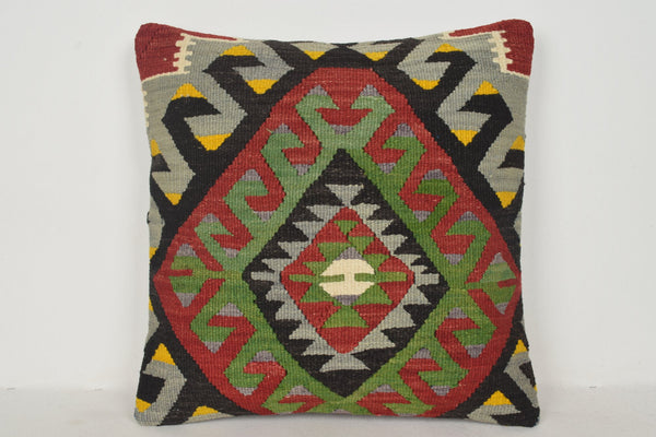 Kilim Rugs Dining Pillows B00264 20x20 Modernistic Berber Rug