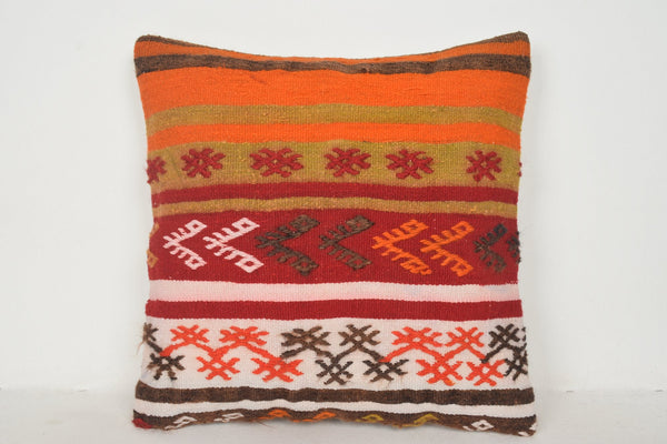 Kilim Rugs Cushion B01265 20x20 Collection Kelim Tapestry Cotton