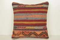 Kilim Body Pillow C00865 18x18 Historical Right Hand crafted