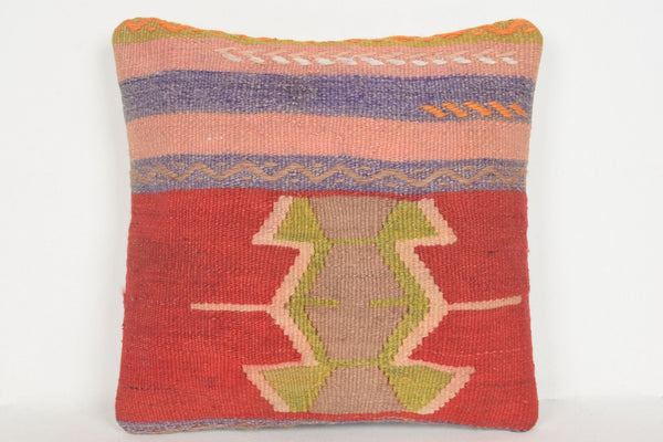 Large Kilim Rug for Sale Pillow D01266 16x16 Handwork Tuscan Special