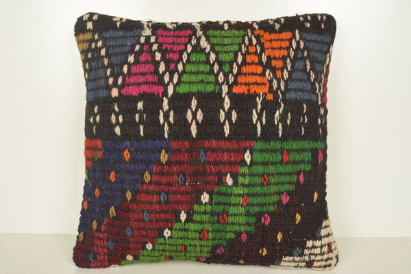 Kilim Rug Auction Pillow B02267 20x20 Celtic Moroccan Western