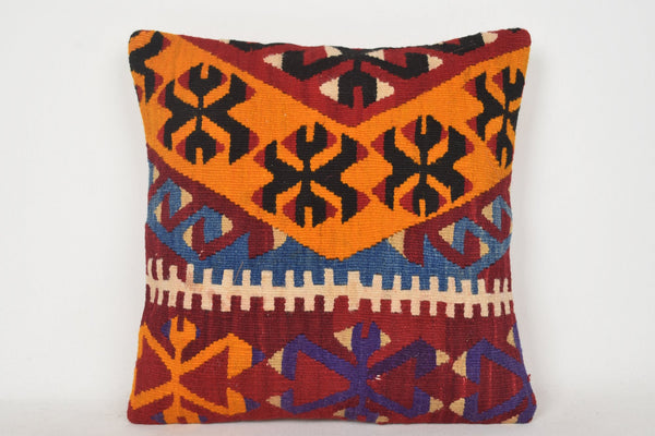 Kilim Pillows Amazon C00168 18x18 Patio Western Prehistoric