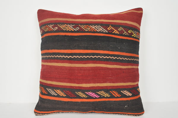 Shelton Kilim Pillow Covers A00669 24x24 Inexpensive Moroccan Rare