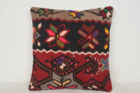 Turkish Pillows Kilim C00569 18x18 Indigo Furnishing Body
