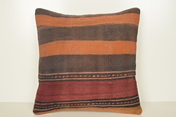 Antique Turkish Lifestyle Kilim Handwoven Pillow Asian Cover