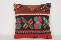 Kilim Pillow Target C00570 18x18 Cotton Collection Livingroom