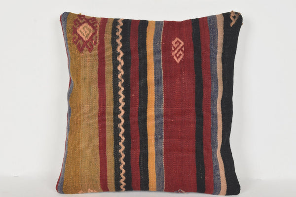 Kilim Cushions South Africa D00307 16x16 Good Body Mid century