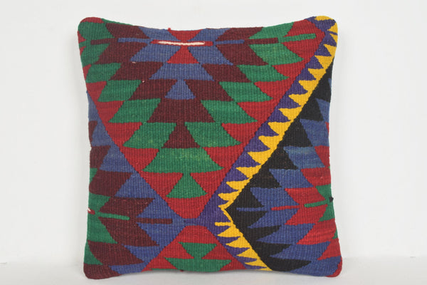 Turkish Rug DC Pillow D01207 16x16 Woollen Economic Artist