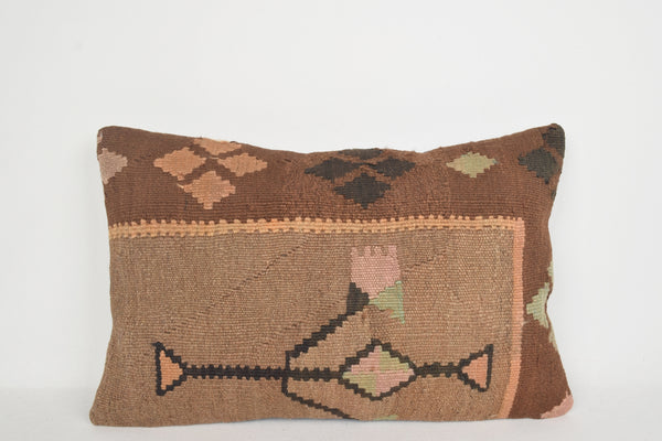Kilim Cushion eBay E00071 Lumbar Art Burlap Shop Native