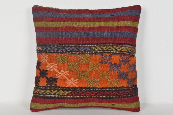 Kilim King Pillowcase D00372 16x16 Pattern Throw Armchair