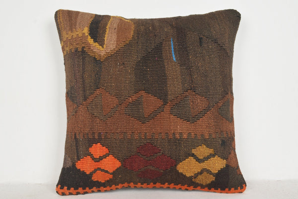 Kilim Rugs Livingston Pillow B00172 20x20 Handicraft Ethnic