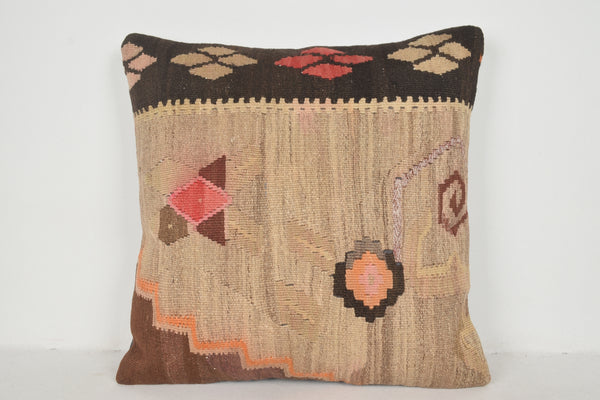 Kilim Pillow Covers made in Turkey A00372 24x24 Shabby Chic cushion covers