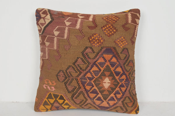 Taavi Turkish Pillow D01573 16x16 Woolen Patio Original