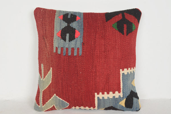 Kilim Rugs Minneapolis Pillow D01473 16x16 Floor Native Social