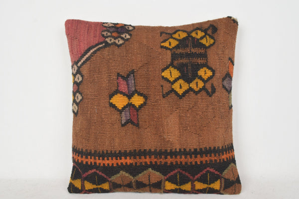 Kilim Pillows Australia C00374 18x18 Home Lace Midcentury