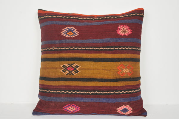 Turkish Kilim Pillows Wholesale A00674 24x24 Solid Cottage Sale Bench