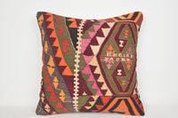Kilim Southwestern Pillows A00074 24x24 Reasonable European Rare Folk