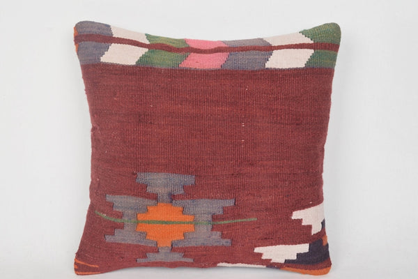Tribal Turc Burlap Kilim Pillow Lifestyle Accessory Carpet Precious Euro Seat