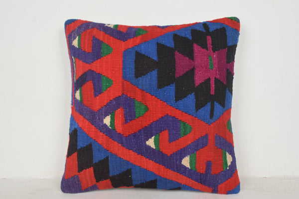 Vintage Kilim Pillow Covers B00475 20x20 Couch Bench Bright
