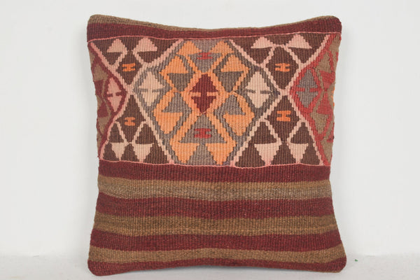Kilim Rugs Images Pillow D01177 16x16 Fabric Novelty Handiwork
