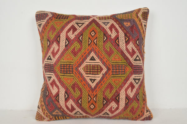 Kilim Large Cushions A00377 24x24 Wholesale pillow cover Interior cushion cover